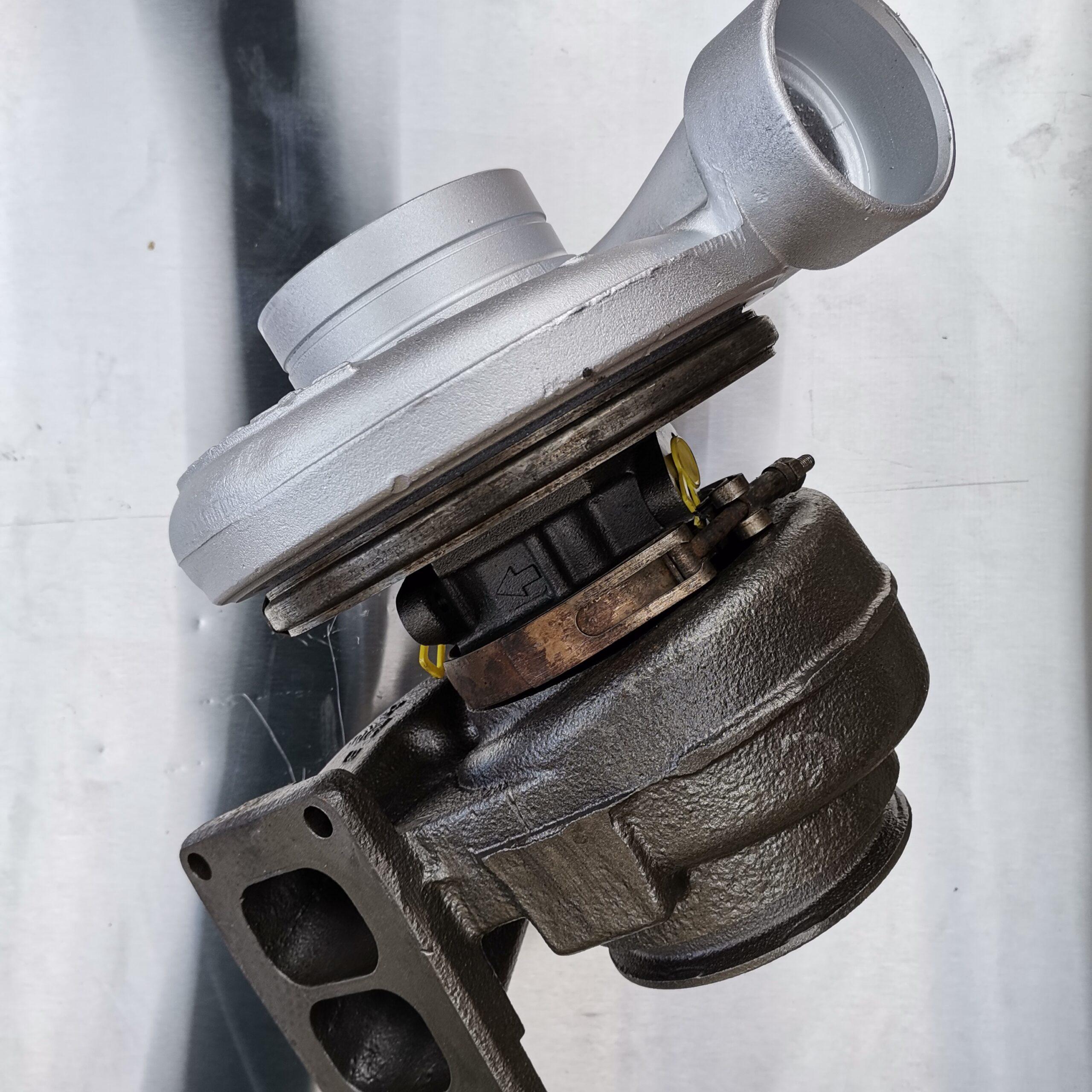 Фото турбины после ремонта для Volvo F10