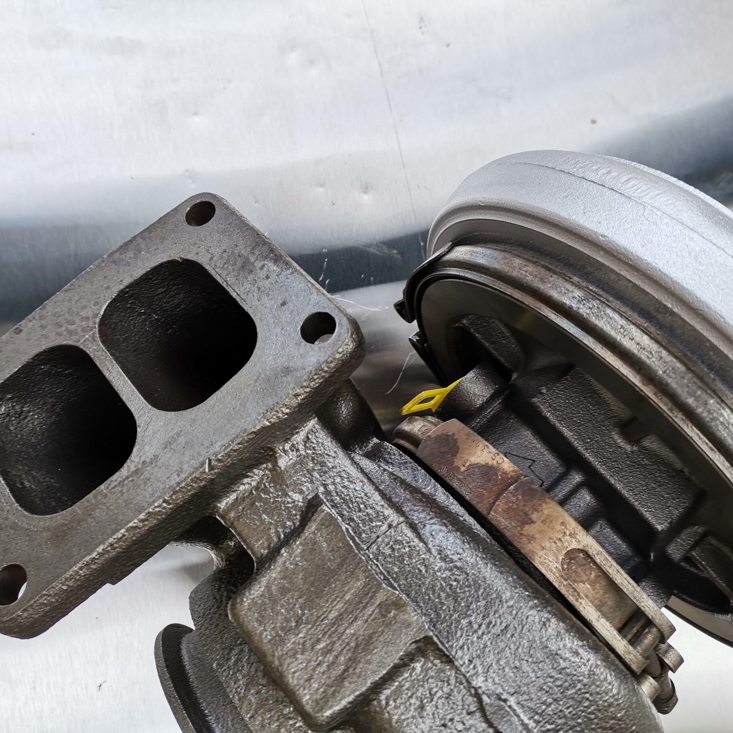 Отремонтировали турбокомпрессор Volvo F10