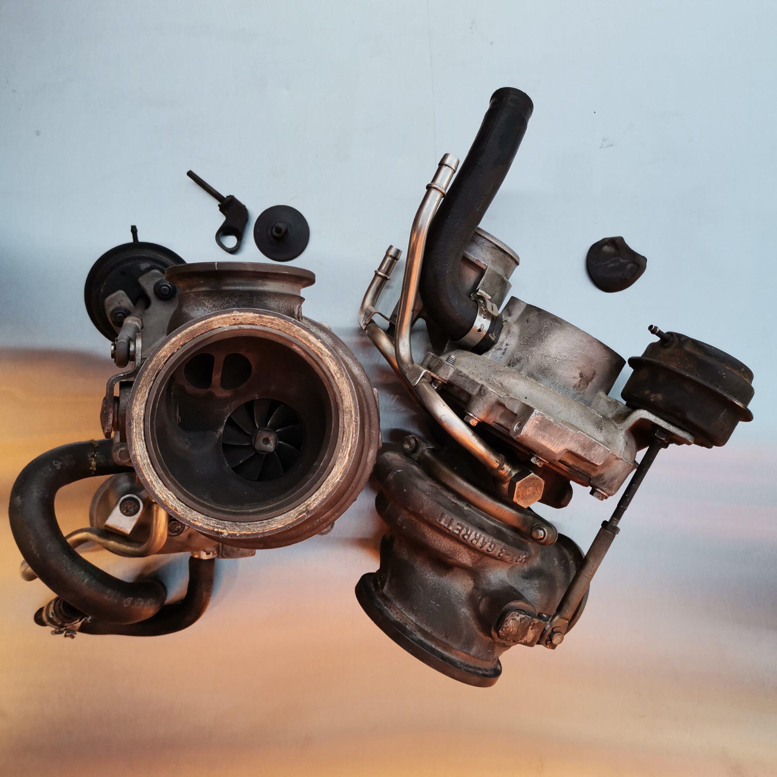 Неисправные турбины BMW X5 E70