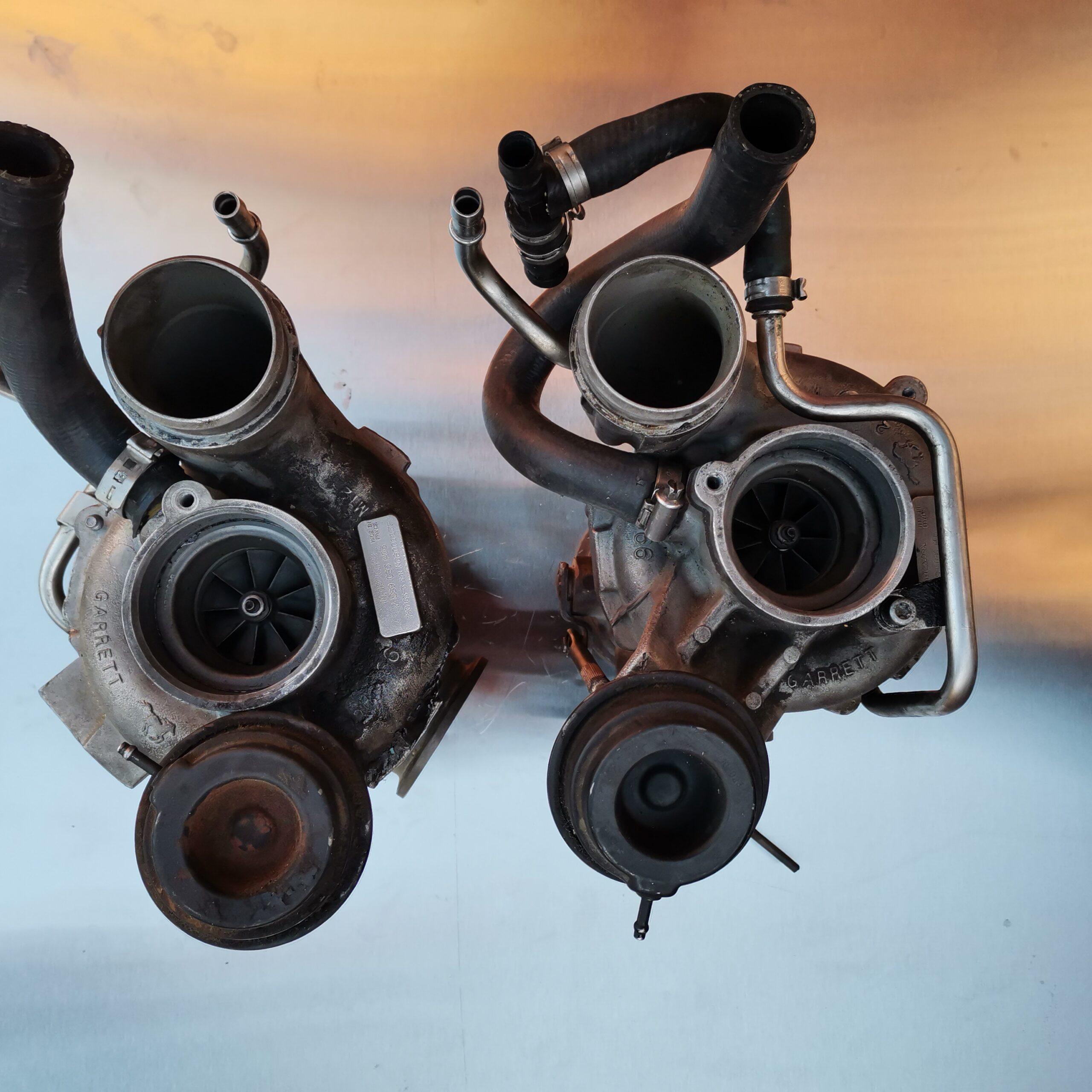Турбины BMW X5 E70 на восстановление