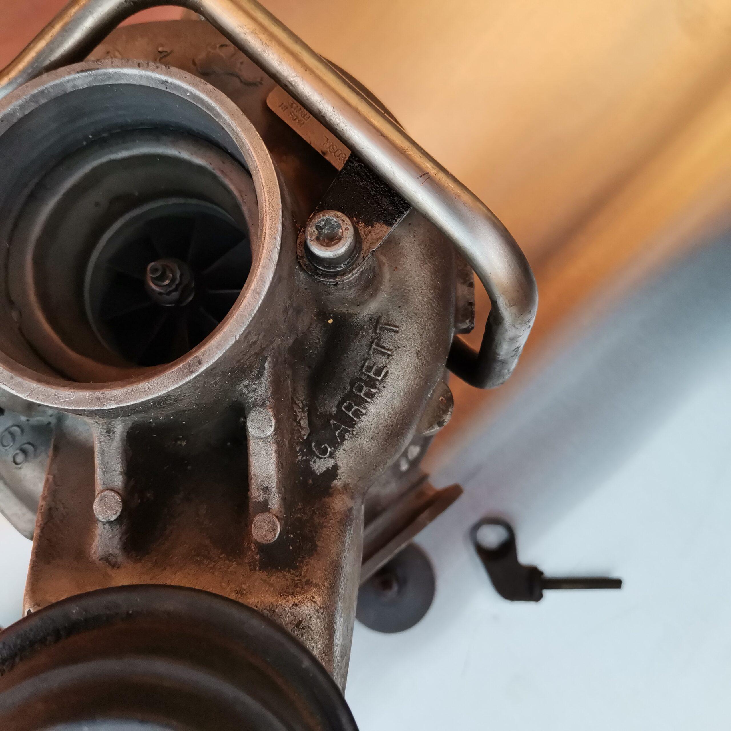 Турбина BMW X5 E70 перед реставрацией
