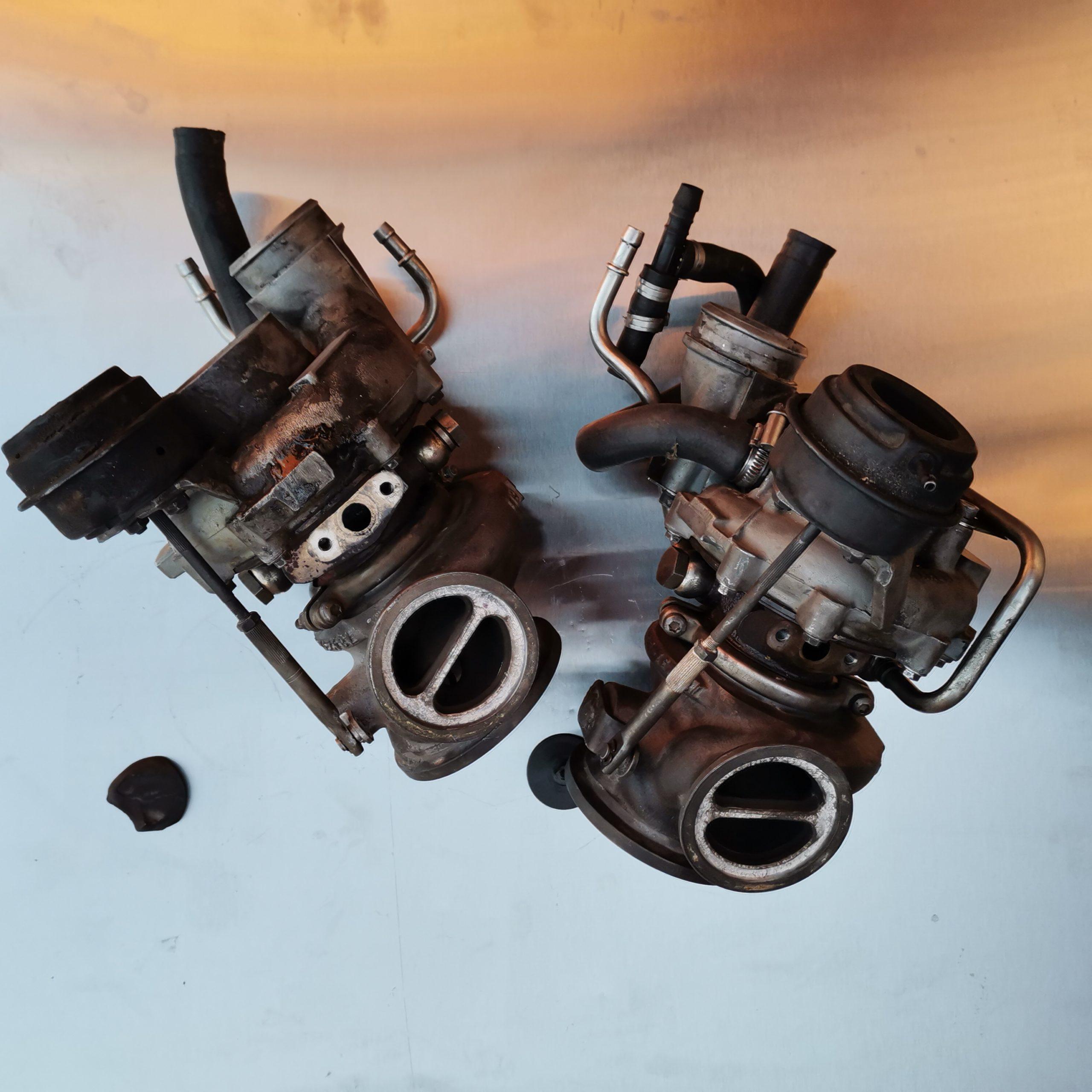 Неисправные турбины BMW X5 E70 790463-3