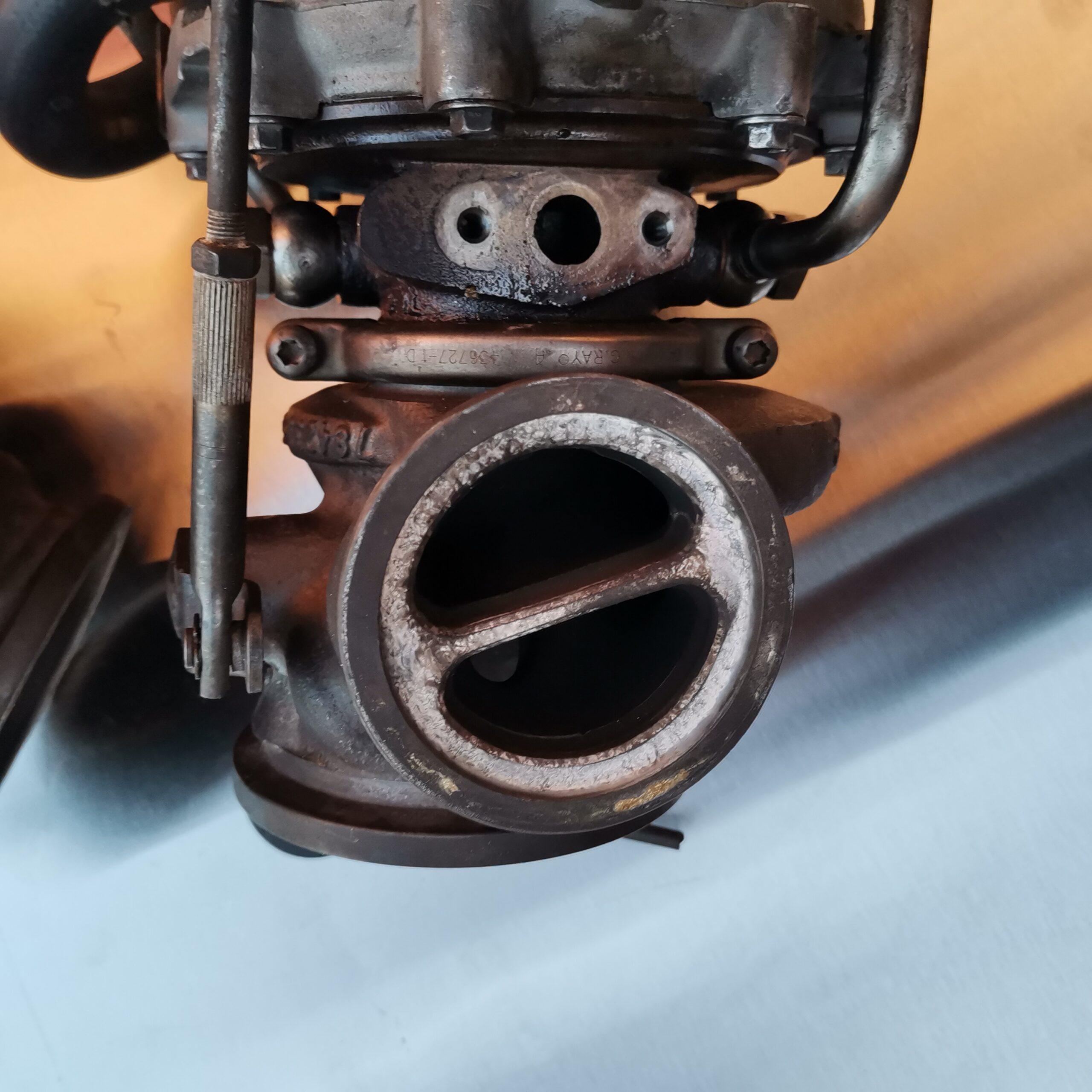 Сломанный турбокомпрессор на BMW X5 E70
