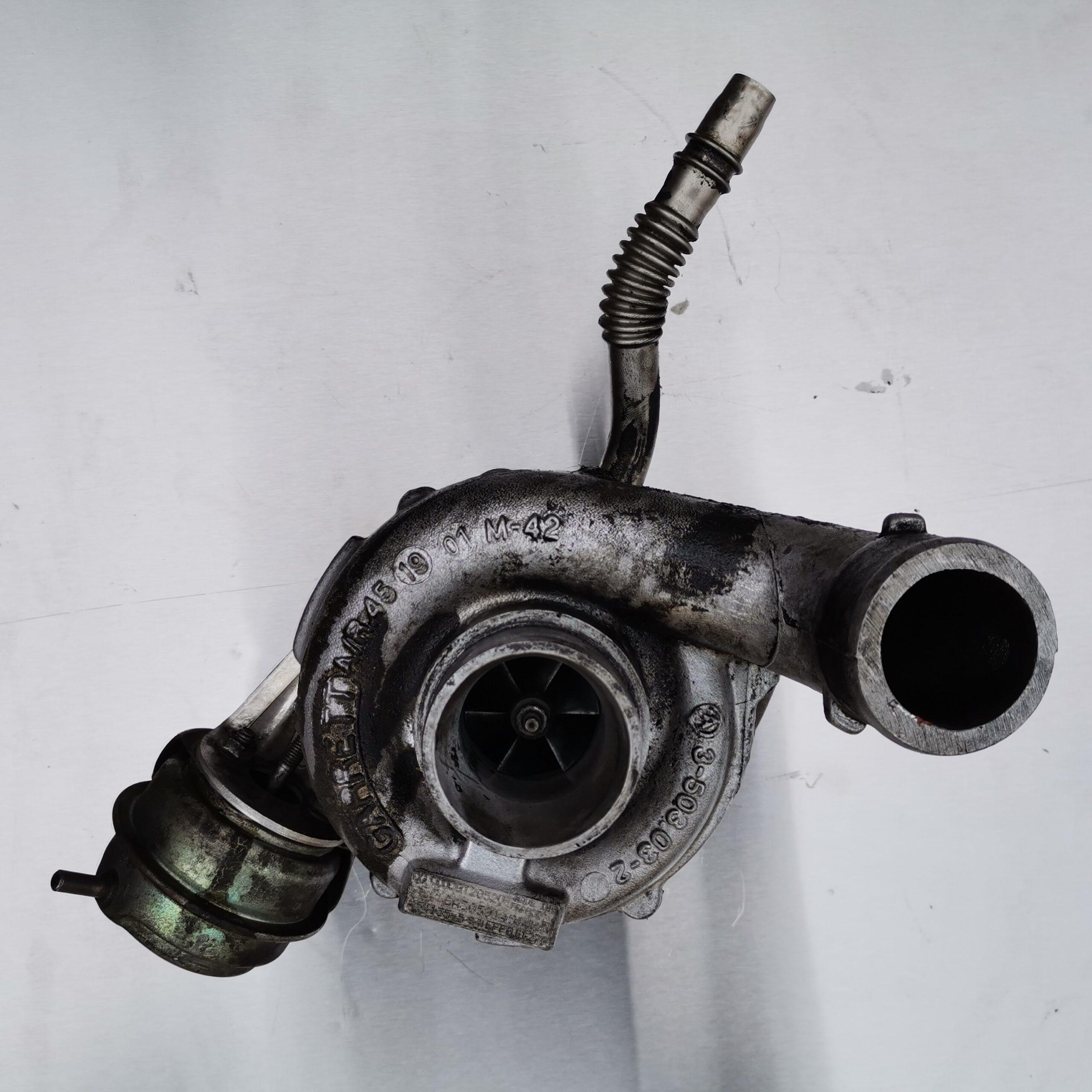 Турбокомпрессор в масле, Audi A6 2.5 TDI