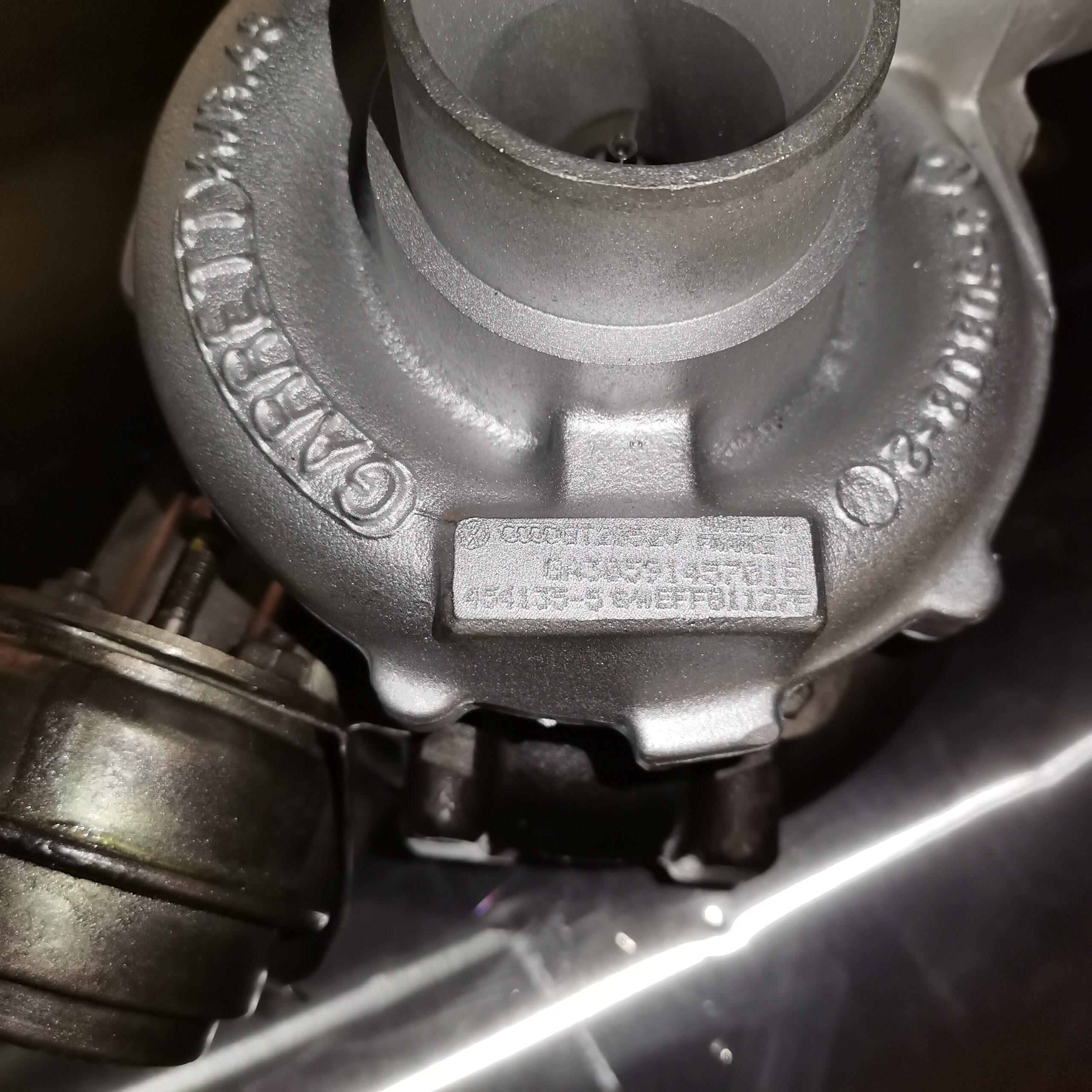 Турбокомпрессор Audi A6 2.5 TDI после реставрации и балансировки