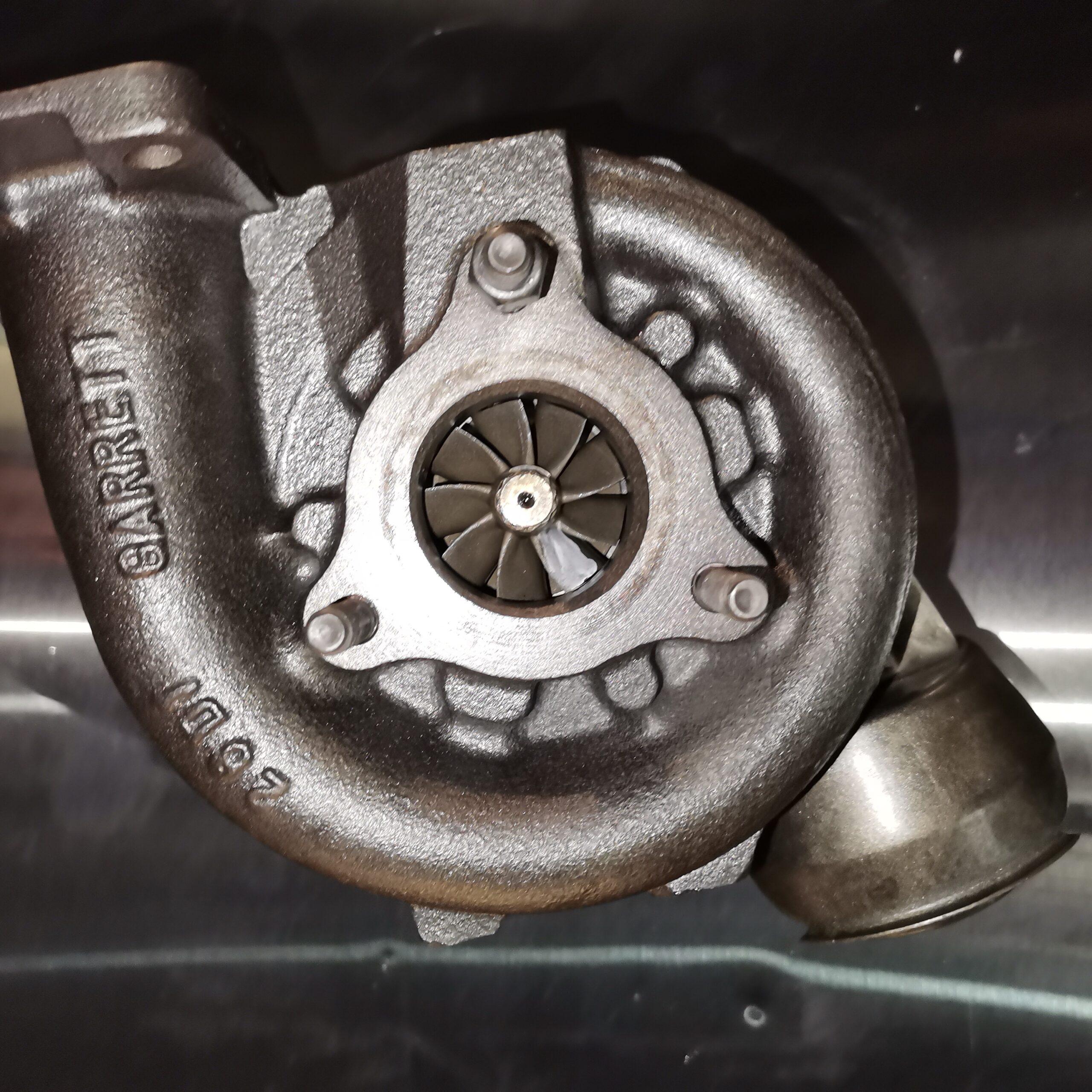 Улитка турбины Audi A6 2.5 TDI после ремонта