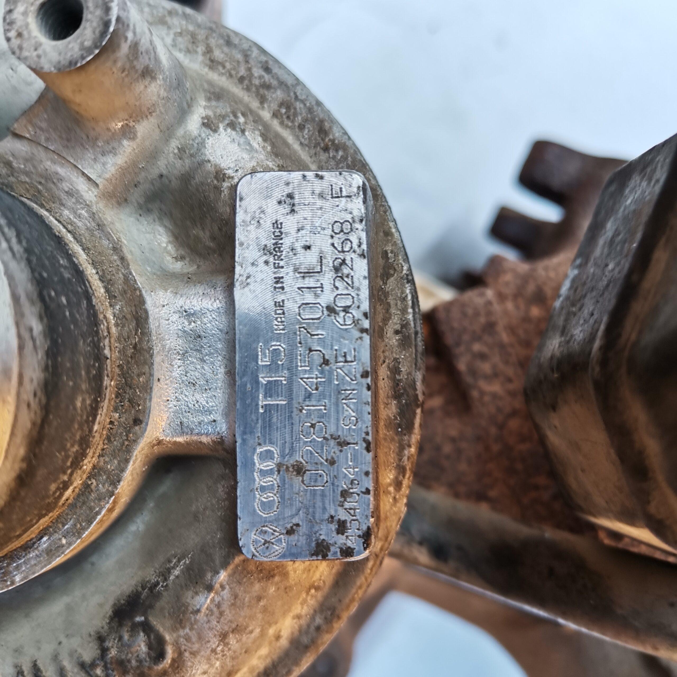 Неисправный турбокомпрессор Volkswagen T4