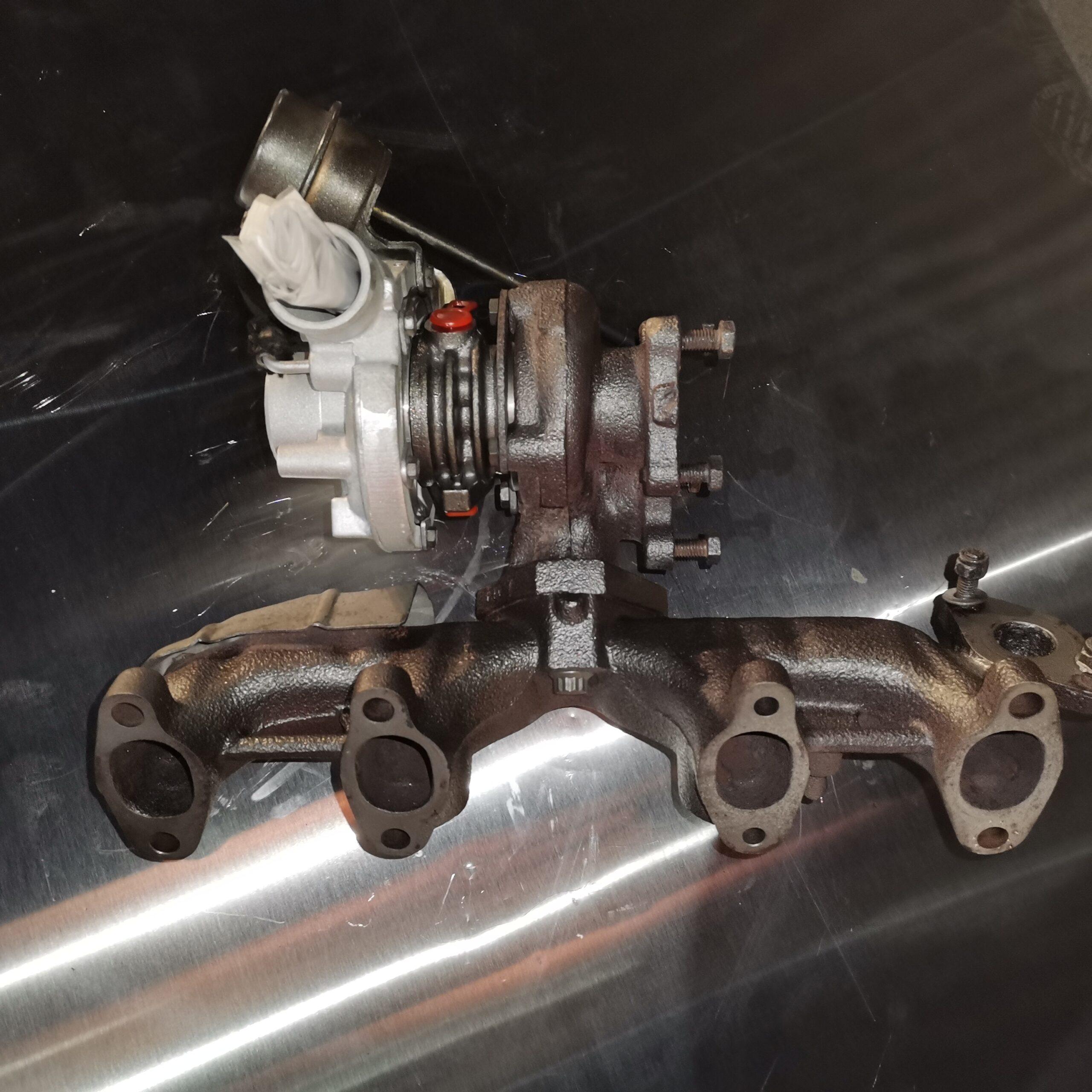 Отремонтировали турбокомпрессор Volkswagen Transporter T4 1.9 td
