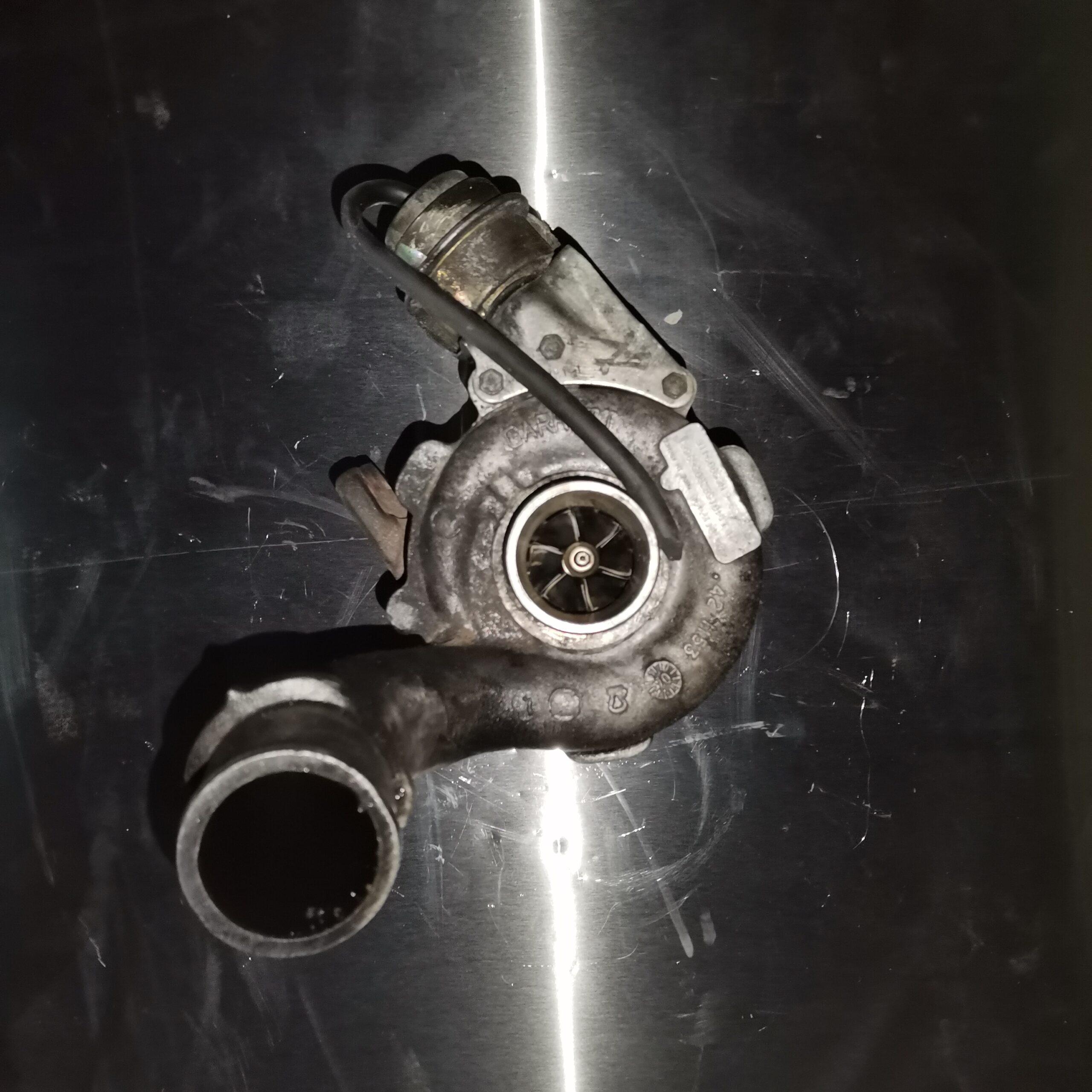 Неисправная турбина Renault Laguna II 1.9 dCi