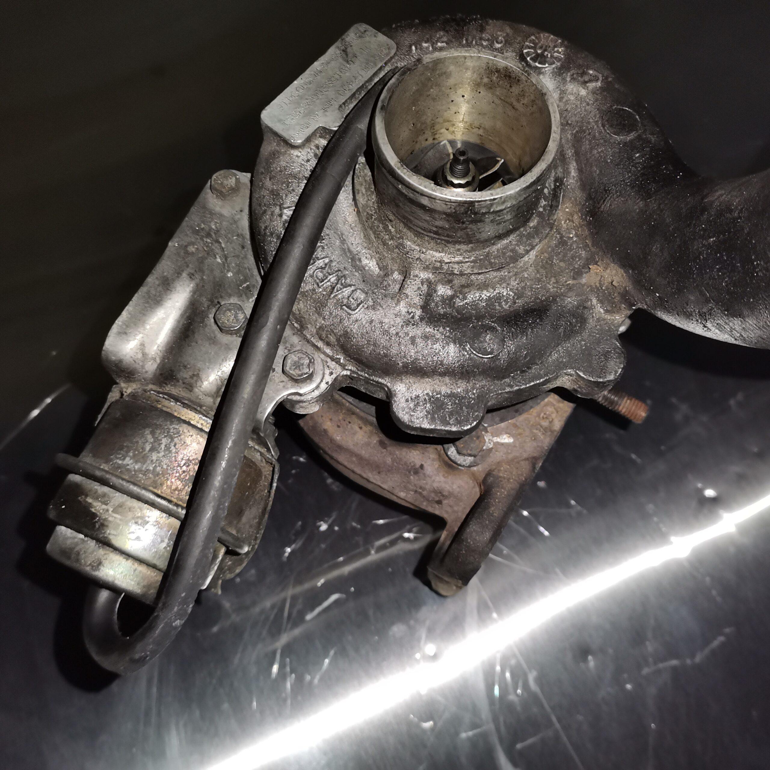 Турбина в масле Renault Laguna