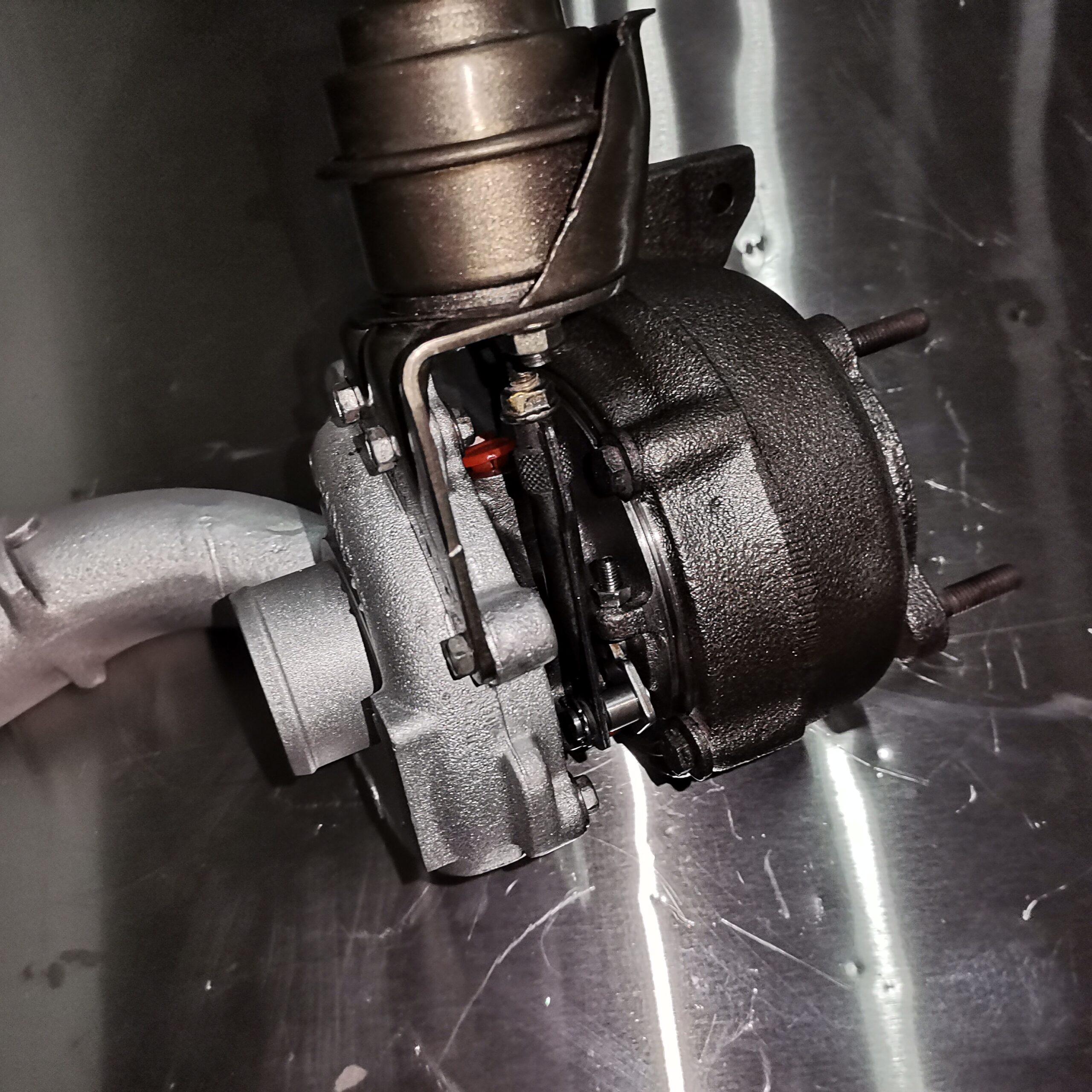 Турбокомпрессор Renault Laguna после ремонта в turboday
