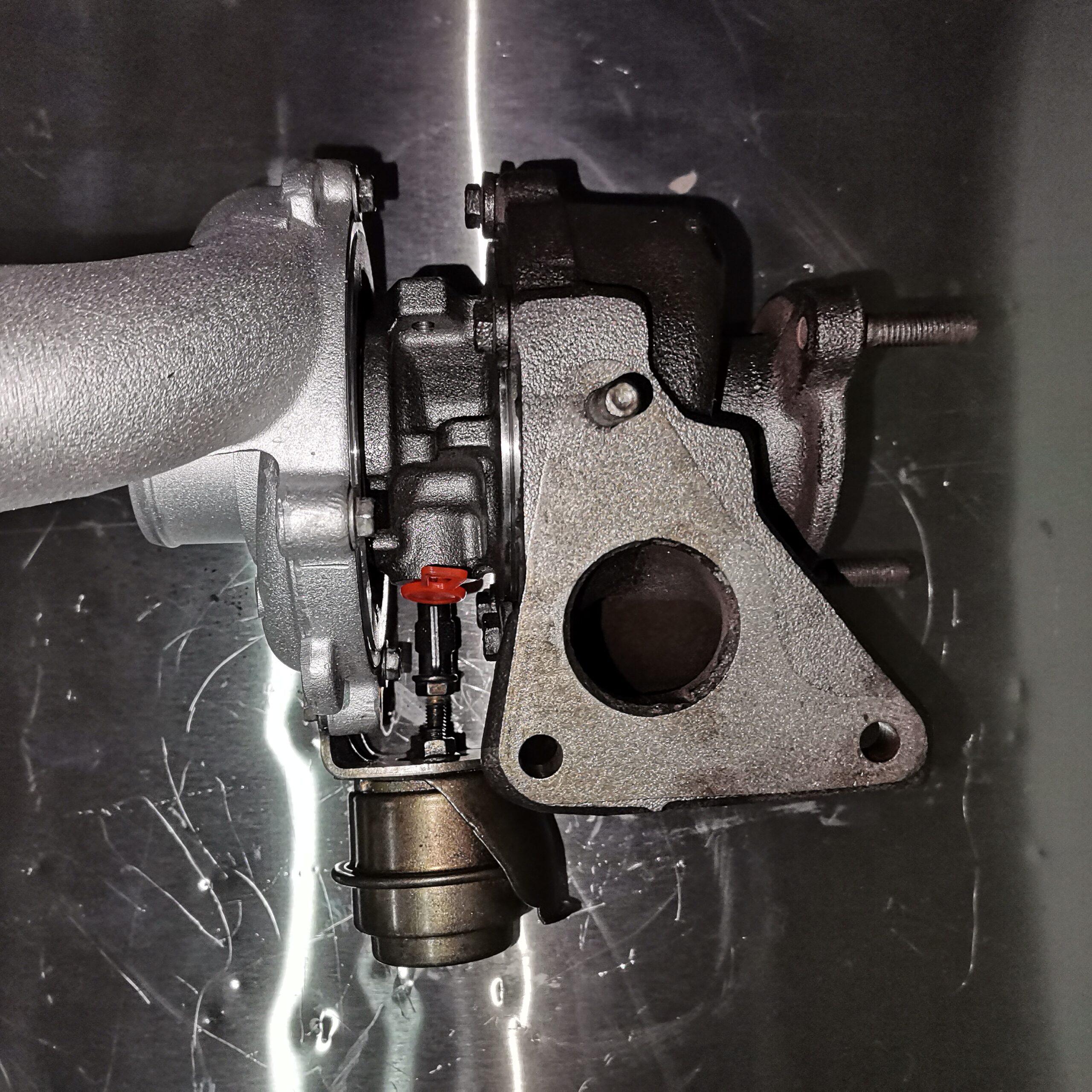 Отремонтировали турбокомпрессор Renault Laguna II 1.9