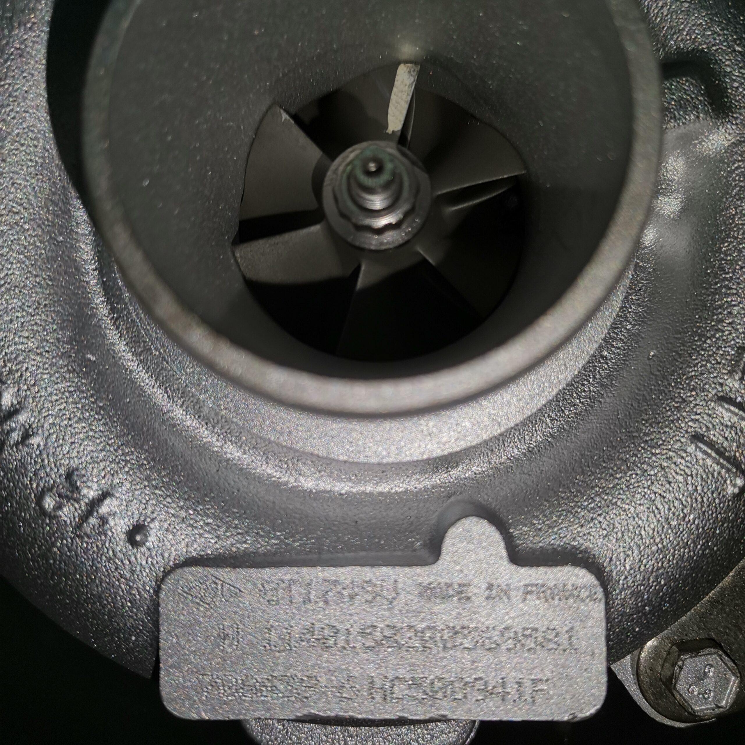 Фото турбины после ремонта для Renault Laguna II 1.9 dCi