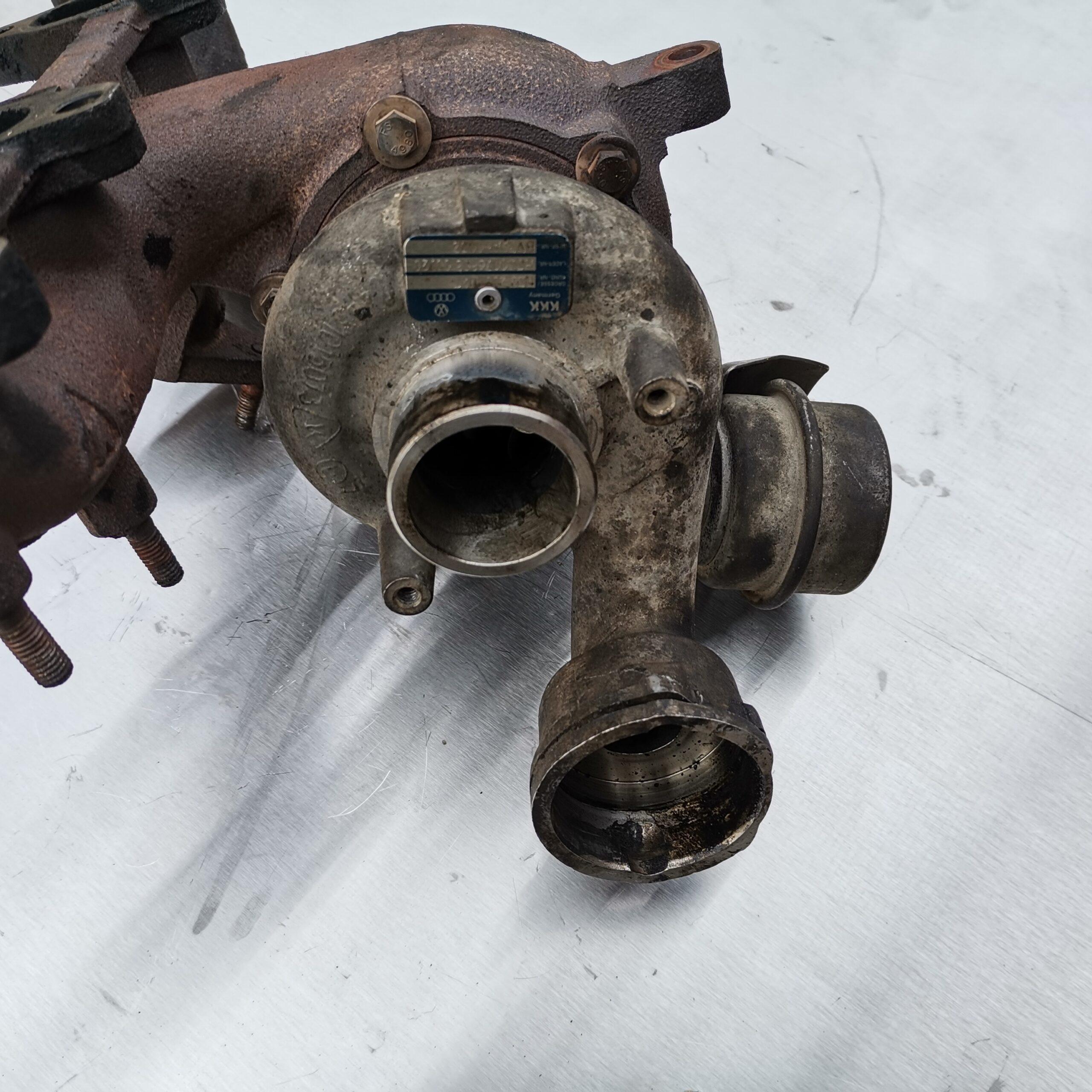 Турбина в масле Volkswagen Passat B6 1.9 TDI