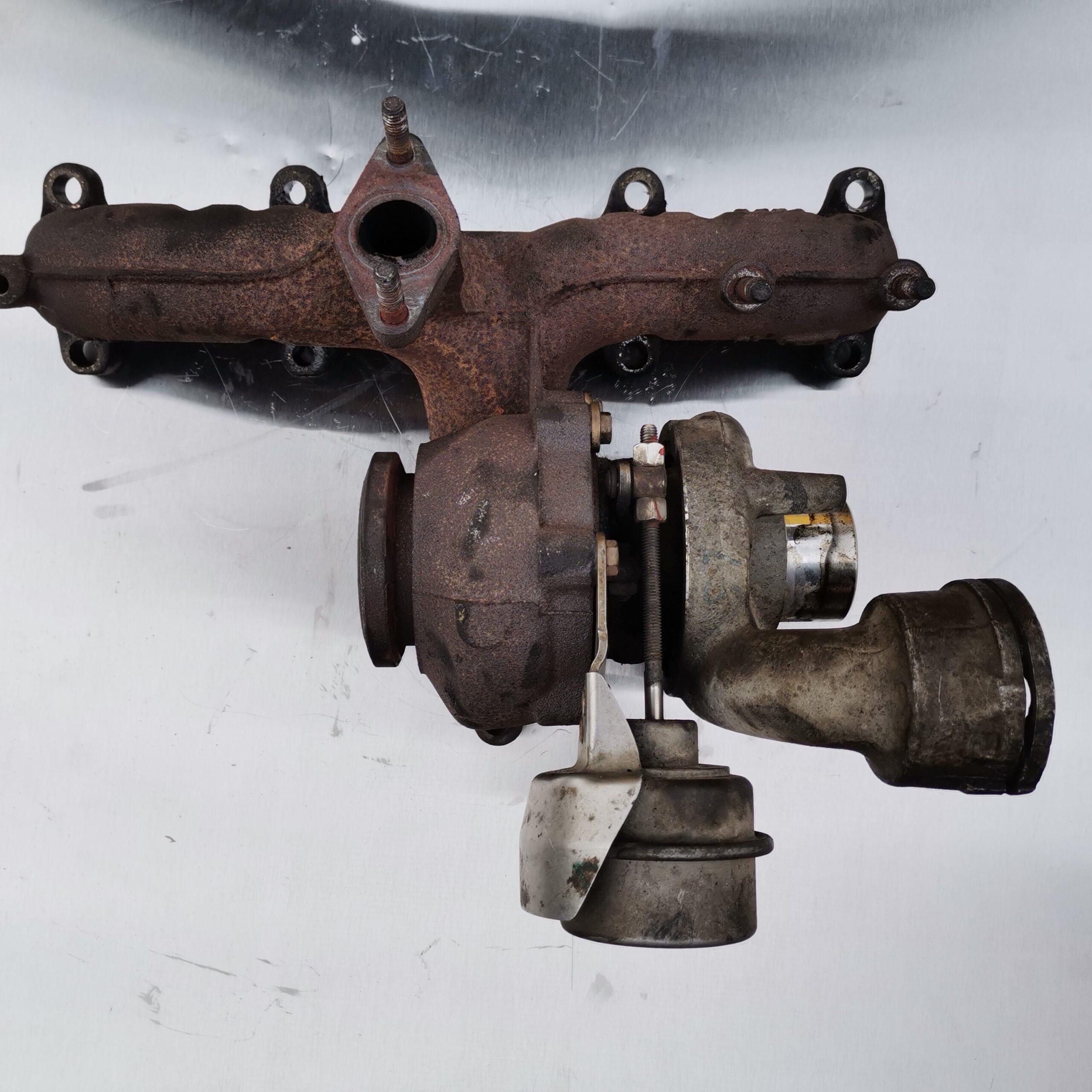 Сломанный турбокомпрессор на Volkswagen Passat B6 1.9 TDI
