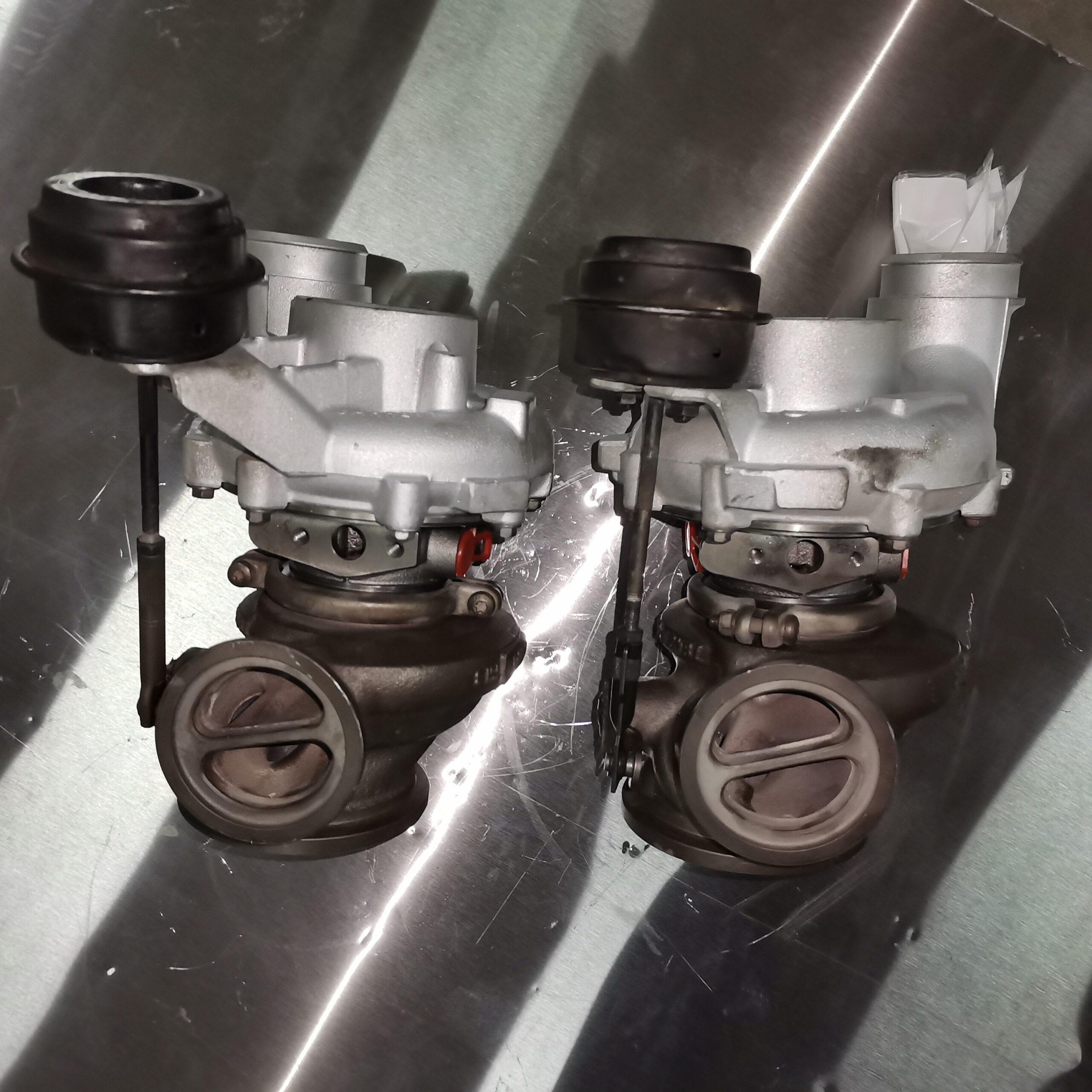 Отремонтировали турбокомпрессор BMW X5 E70 4.4