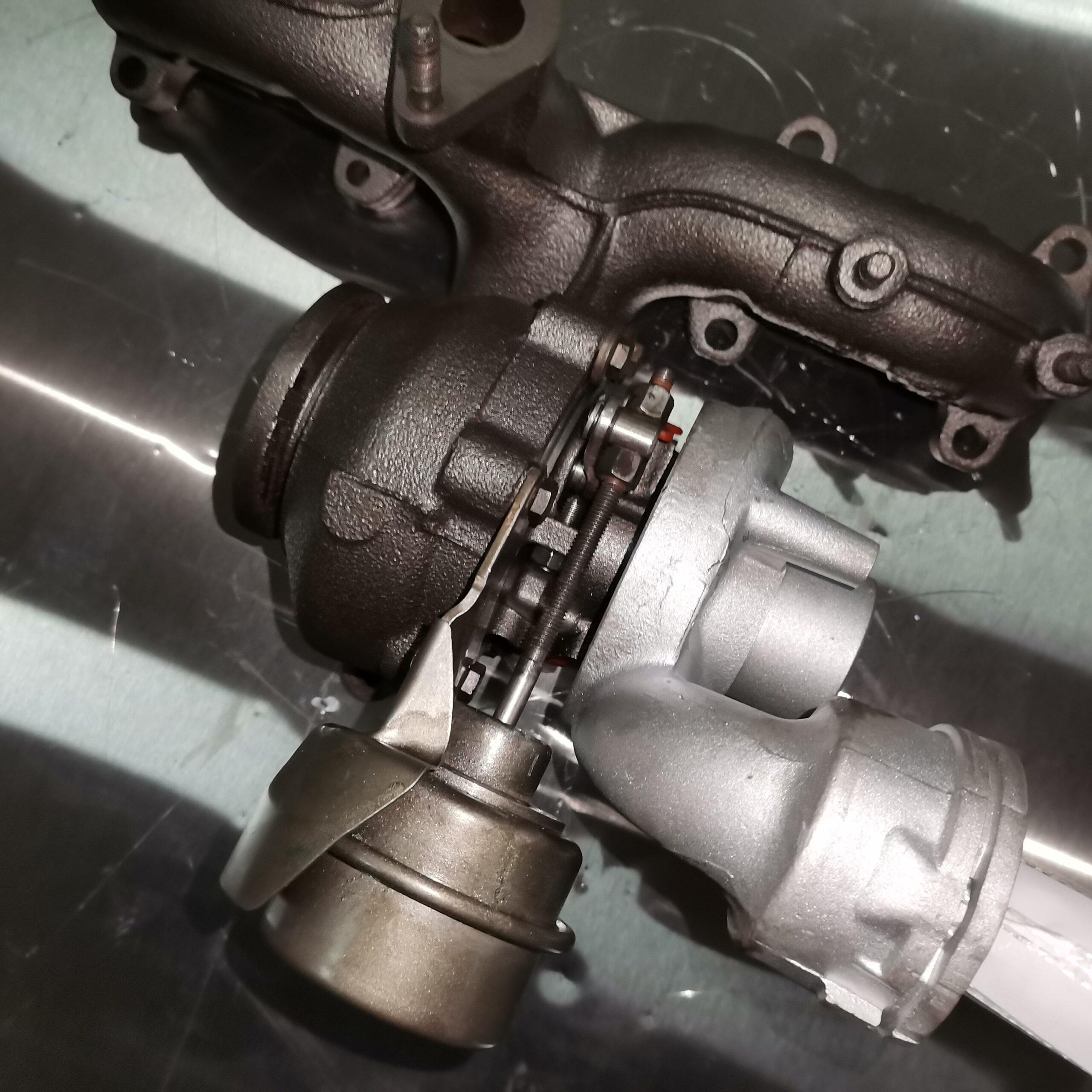 Турбина на Volkswagen Passat B6 1.9 TDI после ремонта