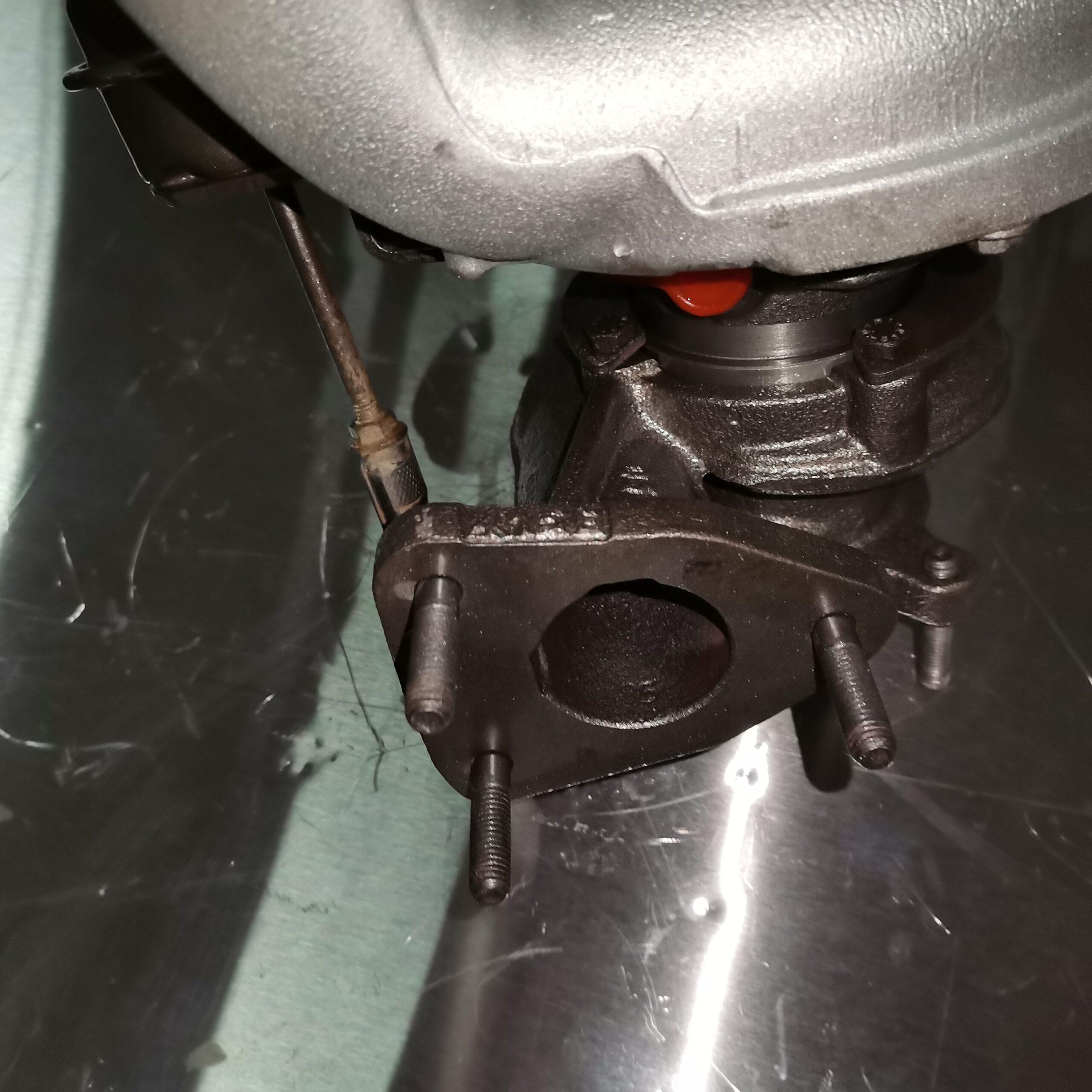Турбина на Renault Trafic 2.5 dci после ремонта