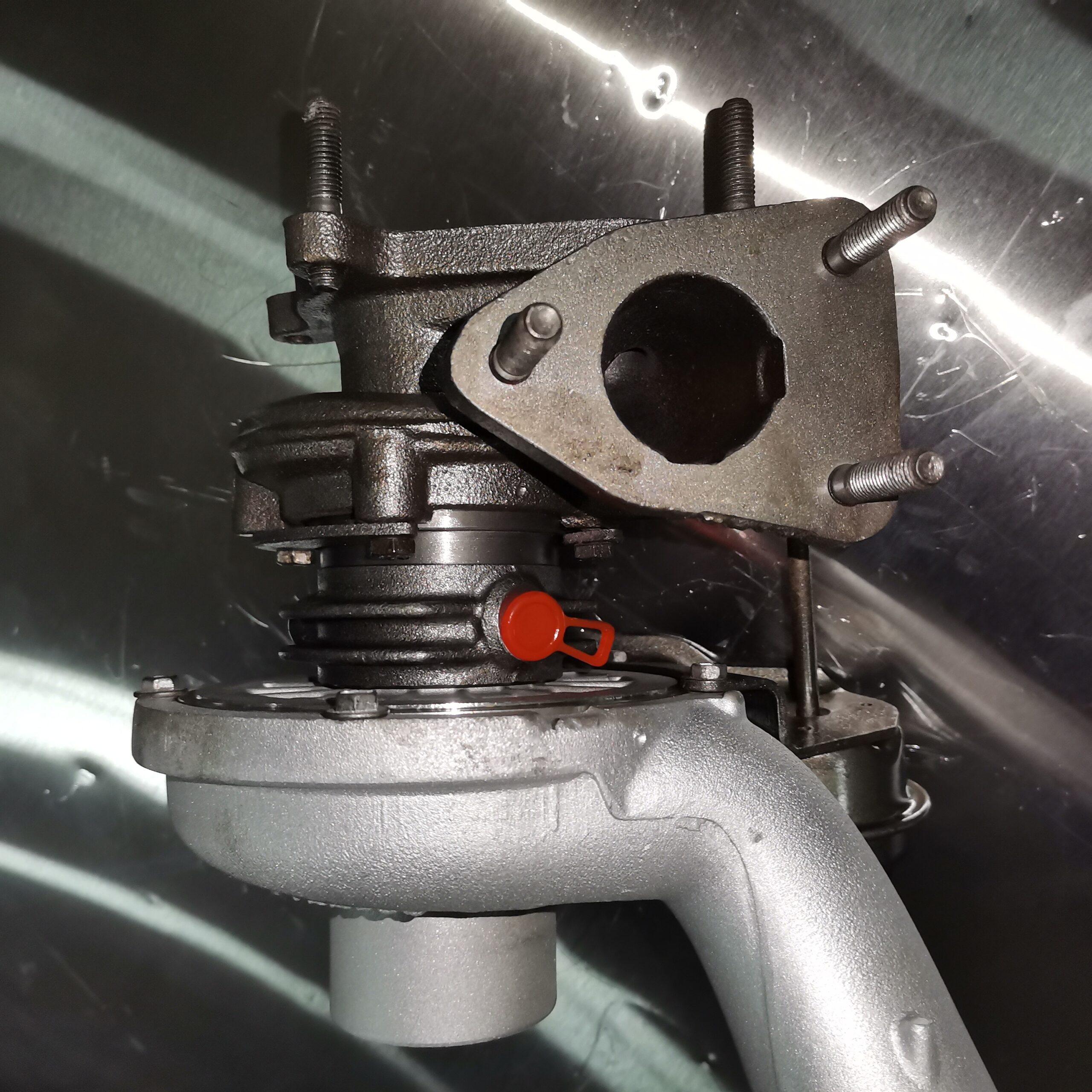 Отремонтировали турбокомпрессор Renault Trafic 2.5 dci