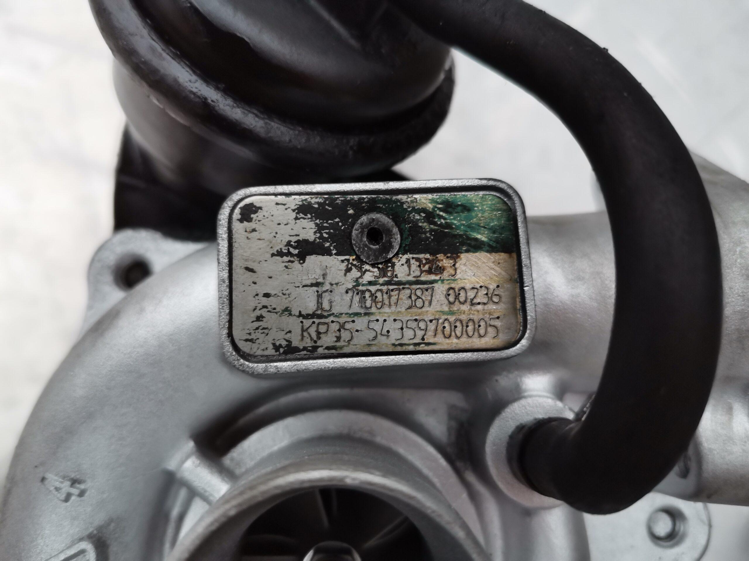 Фото турбины после ремонта для Fiat Doblo 1.3 d