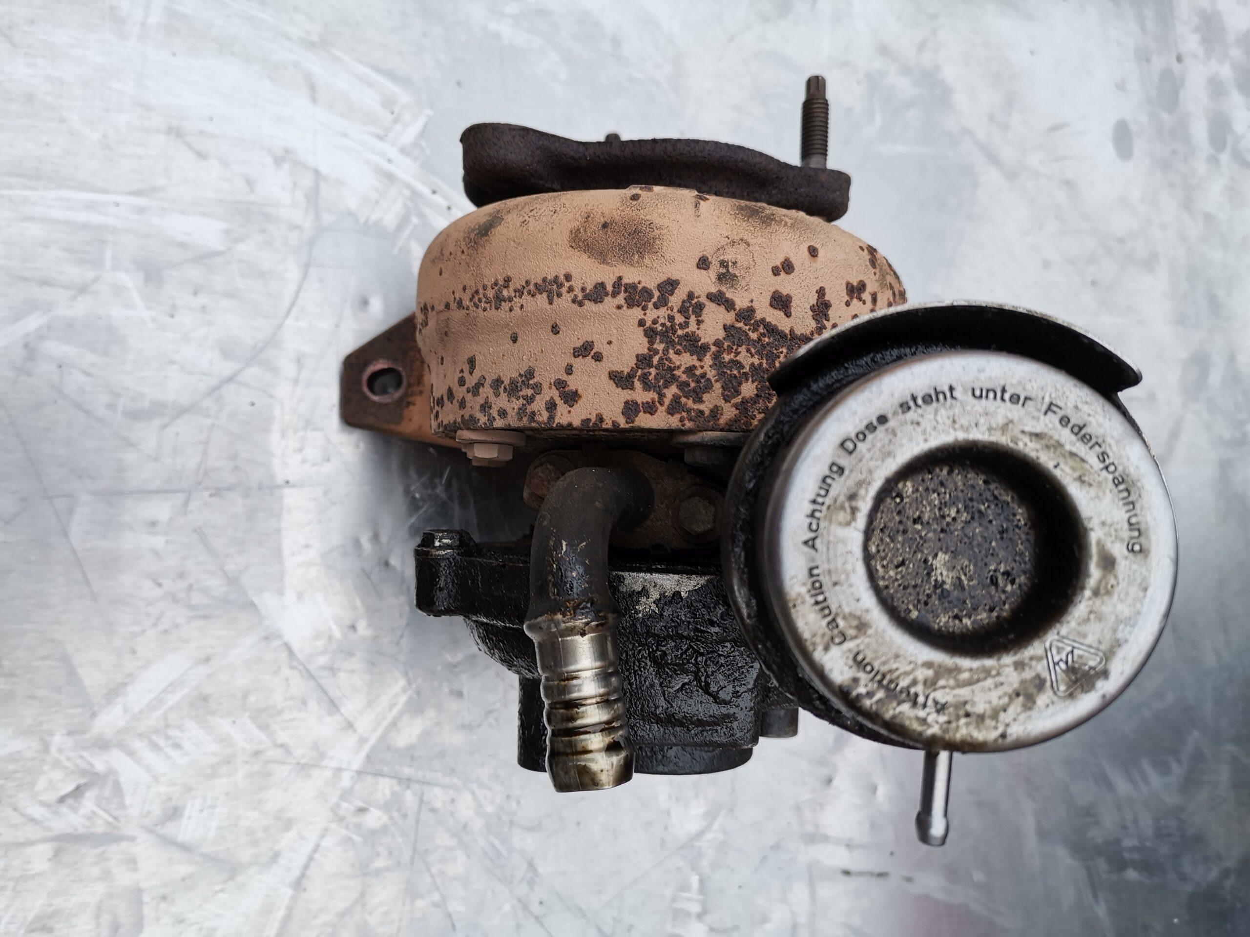 Турбина в масле Renault Scenic 1.5 dci