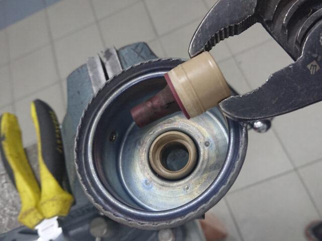 Замена манжеты вакуумного акутатора