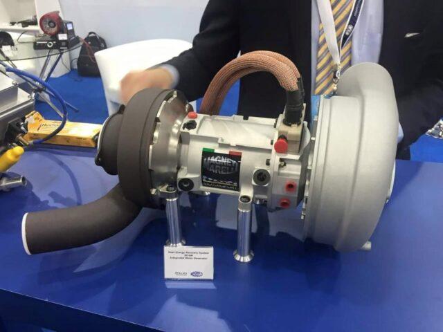 Пример электрической (гибридной) турбины