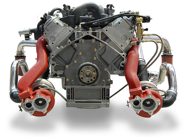 Пример Twin-turbo
